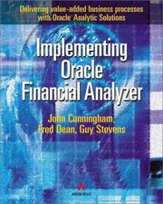 Cover of: Implementing Oracle(r) Financial Analyzer