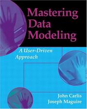 Cover of: Mastering Data Modeling