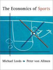 Cover of: The Economics of Sports (The Addison-Wesley Series in Economics)