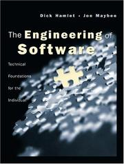 Cover of: The Engineering of Software