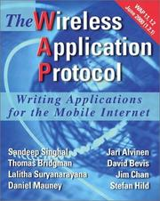 Cover of: The Wireless Application Protocol