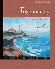 Cover of: Trigonometry