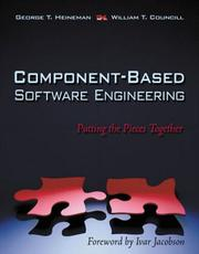 Cover of: Component Based Software Engineering
