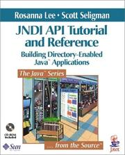 Cover of: JNDI API Tutorial and Reference