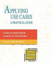 Cover of: Applying Use Cases