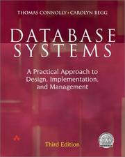 Cover of: Database Systems