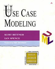 Cover of: Use Case Modeling