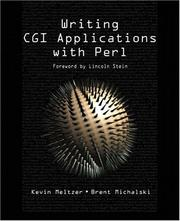 Cover of: Writing CGI Applications with Perl