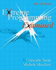Cover of: Extreme Programming Examined