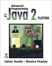 Cover of: Advanced Programming for the Java 2 Platform