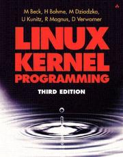 Cover of: Linux Kernel Programming, Third Edition