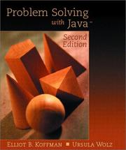 Cover of: Problem Solving with Java (2nd Edition)