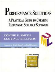 Cover of: Performance Solutions