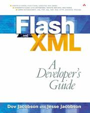 Cover of: Flash and XML