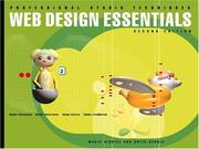 Cover of: Web Design Essentials (2nd Edition)