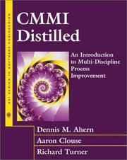 Cover of: CMMI(SM) Distilled