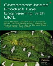 Cover of: Component-Based Product Line Engineering with UML