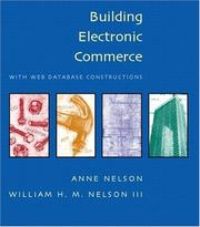 Cover of: Building Electronic Commerce with Web Database Constructions (With CD-ROM)