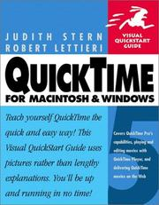 Cover of: QuickTime 5 for Macintosh and Windows (Visual QuickStart Guide)
