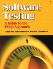 Cover of: Software Testing