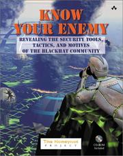 Cover of: Know Your Enemy