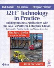 Cover of: J2EE(tm) Technology in Practice