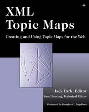 Cover of: XML Topic Maps