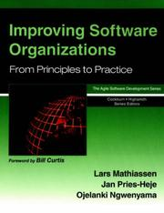 Cover of: Improving Software Organizations