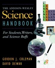 Cover of: The Addison-Wesley Science Handbook (Helix Books)