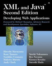 Cover of: XML and Java(TM)