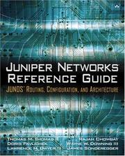Cover of: Juniper Networks(R)  Reference Guide
