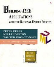 Cover of: Building J2EE Applications with the Rational Unified Process