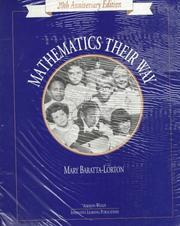 Cover of: Mathematics Their Way, Blackline Masters