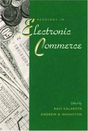 Cover of: Readings in Electronic Commerce
