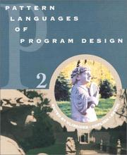 Cover of: Pattern Languages of Program Design 2 (Software Patterns Series)
