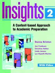 Cover of: Insights 2