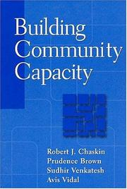 Cover of: Building Community Capacity (Modern Applications of Social Work)