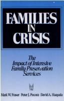 Cover of: Families in Crisis