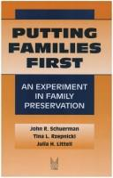Cover of: Putting Families First
