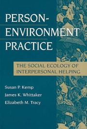 Cover of: Person-Environment Practice