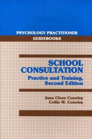Cover of: School Consultation
