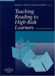 Cover of: Teaching Reading to High-Risk Learners