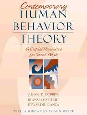 Cover of: Contemporary Human Behavior Theory