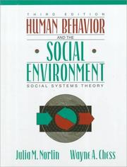 Cover of: Human Behavior and the Social Environment