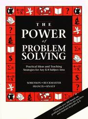 Cover of: Power of Problem Solving, The