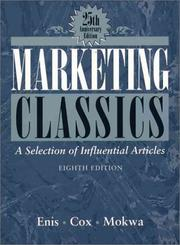 Cover of: Marketing Classics