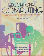 Cover of: Educational Computing