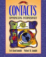 Cover of: Contacts