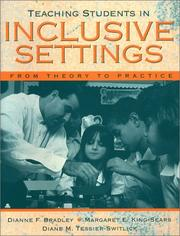 Cover of: Teaching Students in Inclusive Settings