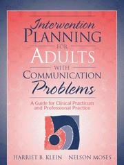 Cover of: Intervention Planning for Adults with Communication Problems
